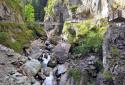 Kitzlochklamm, a Salzburger Land rövid, látványos, jól kiépített szurdoka