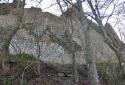 Tátika, könnyű túra a hegytetőn álló vár romjaihoz
