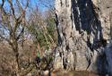 Dörgicse, a Kű-völgy sziklaformációi