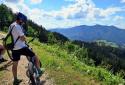 Königsberg, Mountain Bike túra az Ybbs folyó völgye feletti hegygerincen