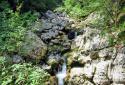 Száva-vízesés, a Bohinji-tó mellett, Slap Savica