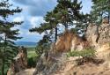Farkas-hegy, Sorrento sziklái, körtúra az Irhás-árokból