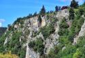 Hohe Wand, Hanselsteig, látványos panoráma út a sziklafal tetejére