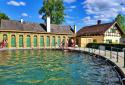 Bad Fischau, a monarchia korabeli hidegvizes termálfürdő