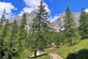 Dachstein, az öt hütte útján