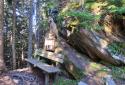 Hochwurzen, kilátóhegy a Dachstein déli falával szemben