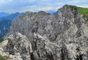 Gartnerkofel, a Karni-Alpok kilátóhegye