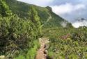 Dobratsch, túra a Villachi-Alpok kilátóhegyére