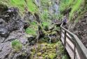 Palfauer Wasserlochklamm, a vízesések szurdoka