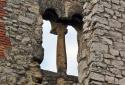 Dörgicse, középkori templomromok