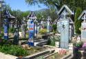 Szaplonca, Vidám temető