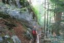 St.Wolfgangból St.Gilgenbe a Falkenstein szikláján át