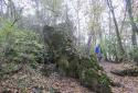 Pilisborosjenő, Egri vár romjai, Teve-szikla, Köves-bérc