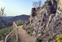 Mátyás-hegy, Árpád-kilátó, Apáthy-szikla, Ferenc-hegy