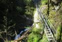 Riesachfall, Riesach-vízesés, Alpinsteig