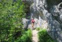 Kis-Fátra, a Vrátna völgy sziklatornyai közt