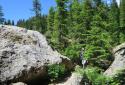 Latemarwiese, Labyrinthsteig, a Latemar sziklalabirintusában