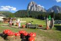 Monte Pana, családi élménytúra a Dolomitokban