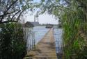 Bokodi-tó, az úszó horgászfalu