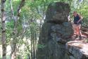 Rostalló, Mlaka-rét, Sólyom-kő, Nagy-Péter-mennykő, Pengő-kő