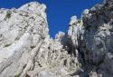 Kampenwand, mászóút a csúcskereszthez, ereszkedés Aschauba