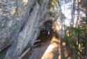 Luckerte Wand, Falkenstein-barlang, rövid túra a Semmering környéki sziklavilágban