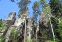 Adršpach sziklaváros