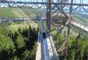 Dolní Morava, Sky Walk, különleges kilátótorony a cseh Szudéta-vidéken