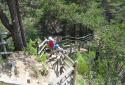 Bletterbachschlucht, a Dolomitok Grand Canyon-ja