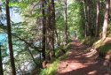 Weissensee, gyalogtúra a tó meseszép északi partján