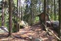 Porladó sziklák, a Cseh Paradicsom legnagyobb sziklavárosa