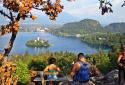 Bled, a legszebb kilátás a tóra