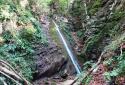 Koseška korita, vízesések szurdoka a Kobarid feletti hegyek közt